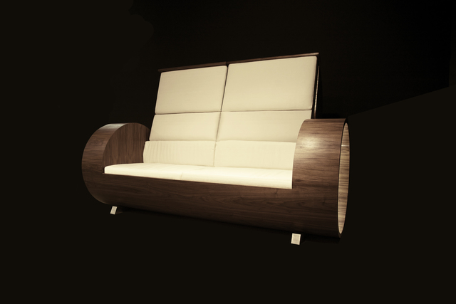 , 'Cloche Sofa walnut,' 2013, Galleria Ca' d'Oro