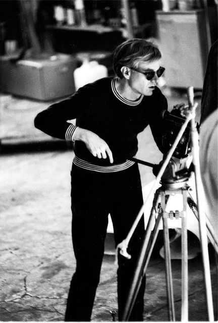 , 'Andy Warhol with his moving camera,' 1964, Milk Gallery