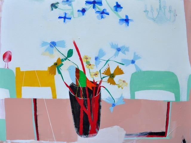 , 'Still Life with Birds,' 2018, M.A. Doran Gallery