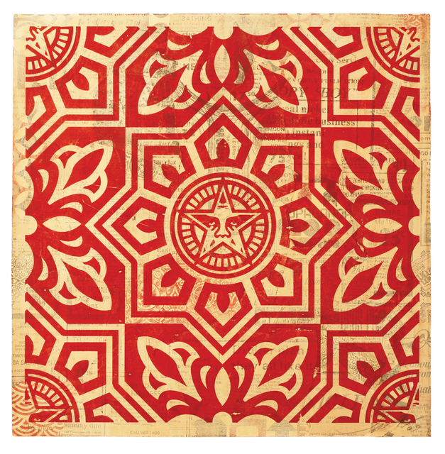 , 'Venice Pattern (Red),' 2010, 212GALLERY