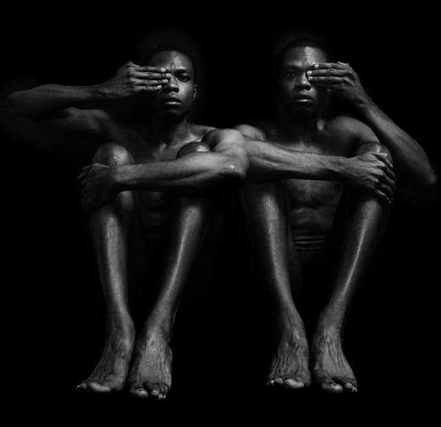, 'Half Opened Eyes Twins,' 1989/2018, Hales Gallery
