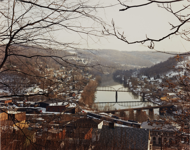 , 'MONONGAHELA RIVER, GRAFTON, WEST VIRGINIA, FEBRUARY 1983,' 1983, Beetles + Huxley