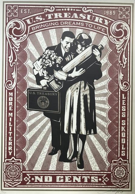 Shepard Fairey, 'Proud parents', 2007, DIGARD AUCTION