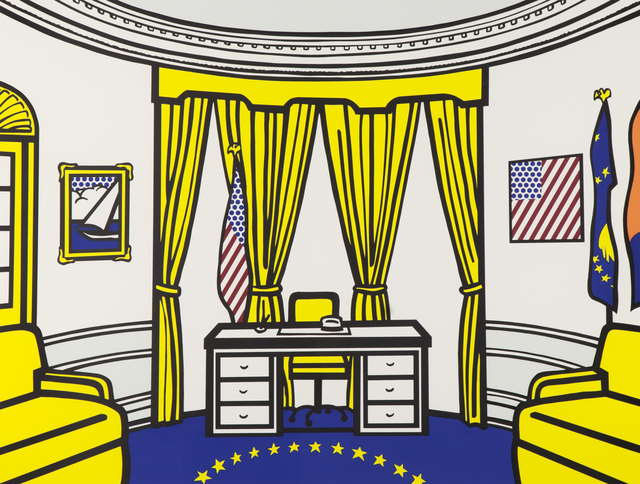 Roy Lichtenstein, 'The Oval Office,' 1992, Ronald Feldman Fine Arts