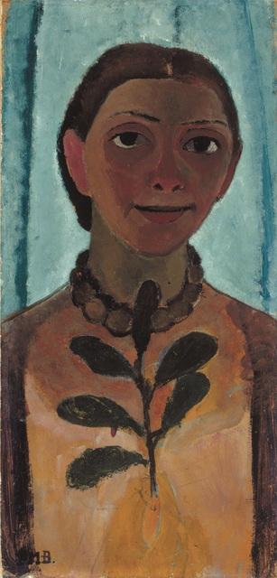 , 'Autoportrait à la Branche de Camélia ,' 1906-1907, Musée d'Art Moderne de la Ville de Paris