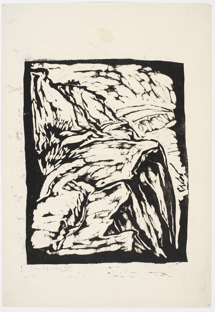 , 'Sandgrube III,' 1916, Cristea Roberts Gallery