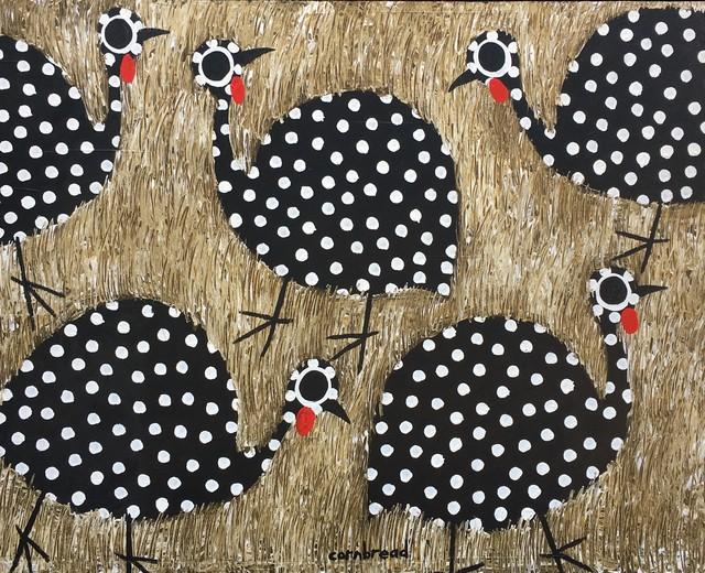 Cornbread, 'Black Guinea Hens', Unkown, Shain Gallery