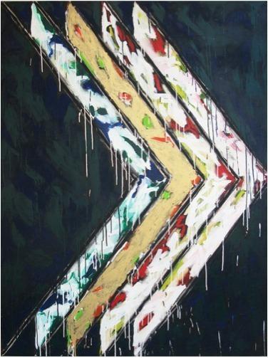 , 'Sans titre (Chevrons),' 1982, Galerie Lacerte Art Contemporain