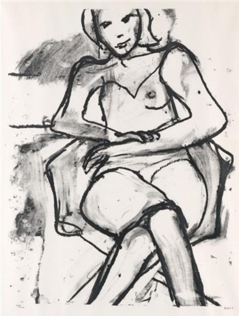, 'Seated Woman,' 1965, Lyndsey Ingram