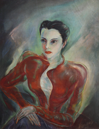 , 'Retrato de Marta,' 1942, Pan American Art Projects