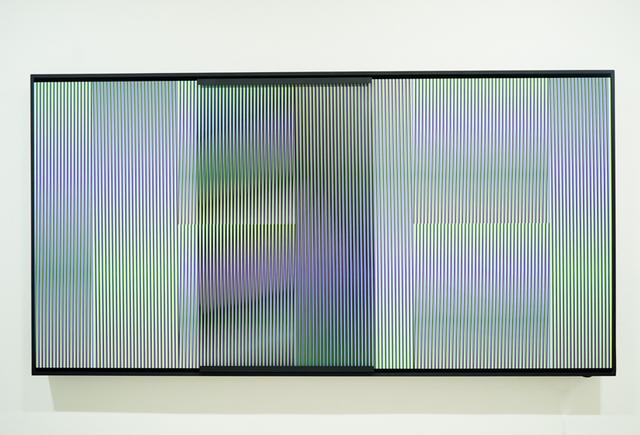 Carlos Cruz-Diez, 'Cromointerferencia mecánica Caura C', 2017, Marion Gallery