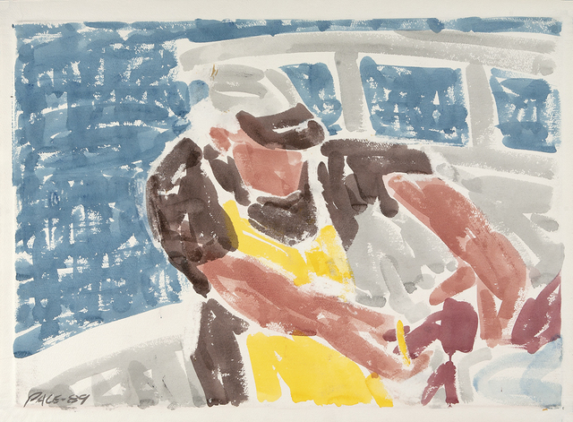 , 'Lobsterman Banding,' 1989, Dowling Walsh
