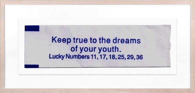 , 'Keep True to the Dreams,' 2017, Twyla