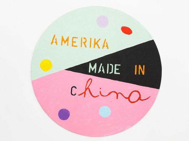 Mladen Stilinovic, 'America made in China', 2015, Galerie Martin Janda