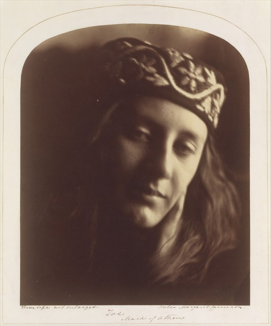 Julia Margaret Cameron, 'Zoe, Maid of Athens', 1866, The Metropolitan Museum of Art