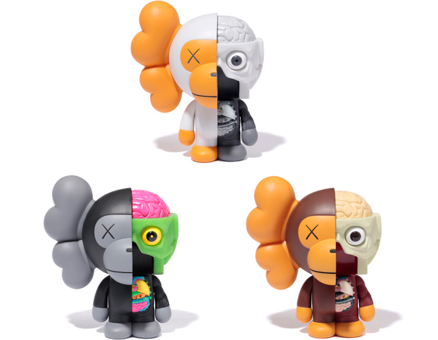 KAWS, 'Dissected Milo (Set of Three)', 2011, Lougher Contemporary