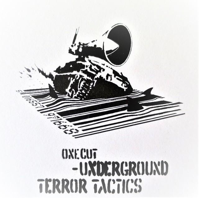 Banksy, 'Underground Terror Tactics - One Cut', 2000, AYNAC Gallery