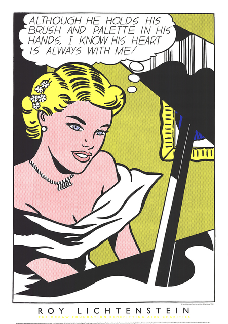Roy Lichtenstein, 'Girl at the Piano', 1994, Print, Serigraph, ArtWise