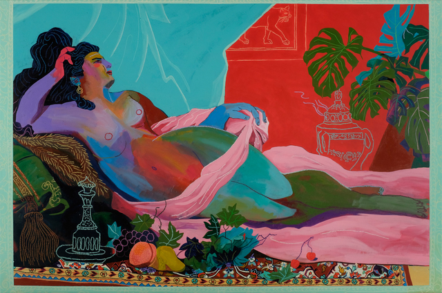 , 'Odalisque (After Franz Russ the Younger),' 2017, Beers London