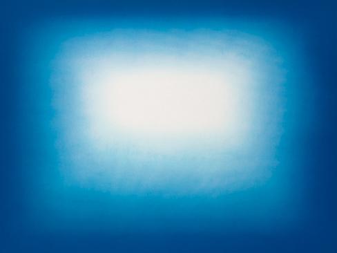 , 'Blue Shadow (2),' 2013, Arteedições Galeria