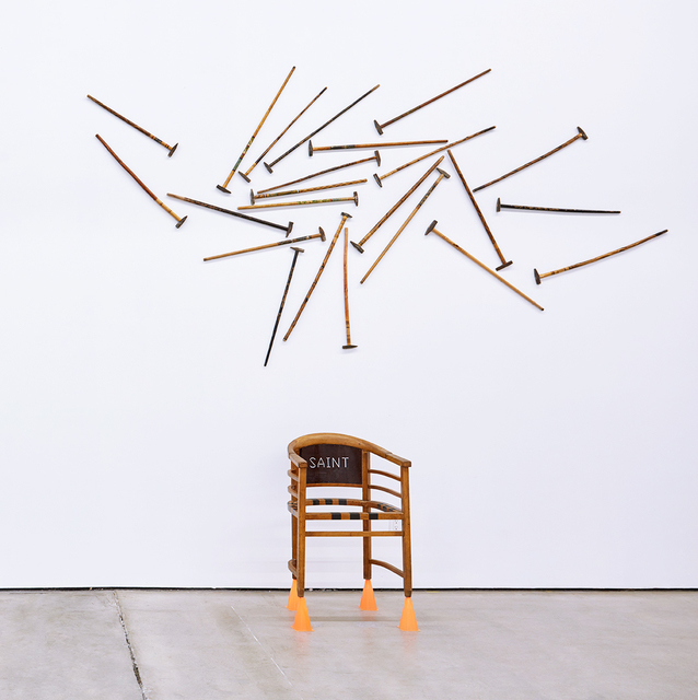 , 'Untitled (Eastern Orthodox chair with hammers and walking sticks),' , Nicodim Gallery