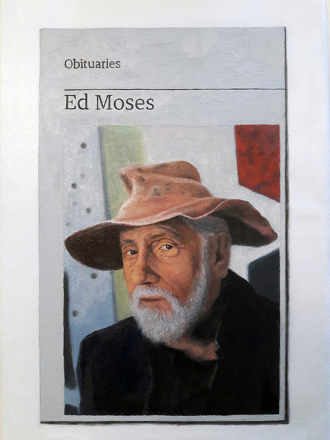 , 'Obituary: Ed Moses,' 2018, Charlie Smith London