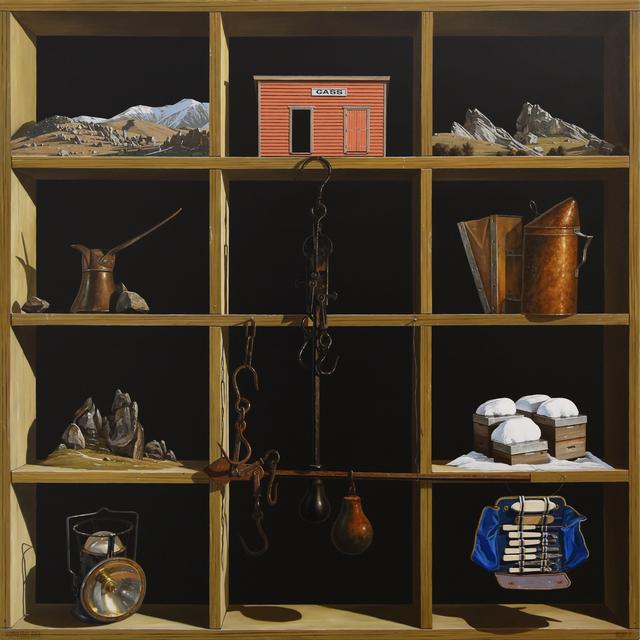 , 'Waimakariri River,' 2019, Gow Langsford Gallery