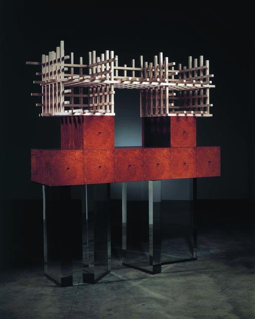 , 'Cabinet no. 71,' 2006, Friedman Benda