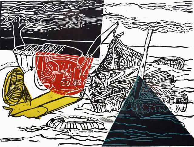 Ke Francis, 'Primary Raft ', ca. 2018, Bill Lowe Gallery