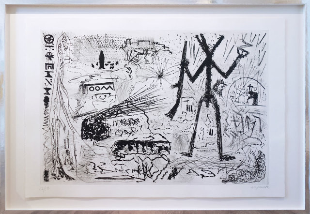 A.R. Penck, 'Expedition to the holy land', 1983, Galerie Kellermann
