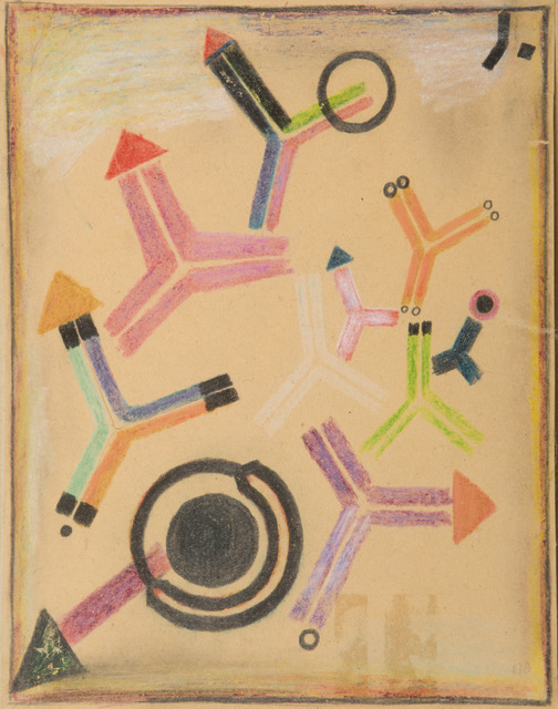 , 'Arrows and Rings,' 1949, Childs Gallery
