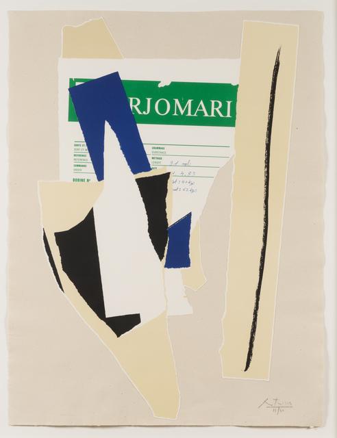 Robert Motherwell, 'America - La France Variations IX', 1984, Leslie Sacks Gallery