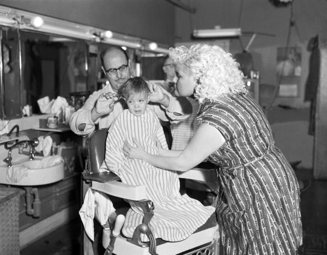 Jennifer Greenburg, 'His first haircut, 2011', photo-eye Gallery