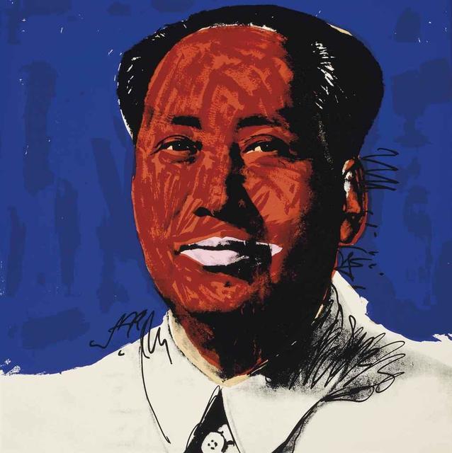 Andy Warhol, 'Mao', 1972, Rudolf Budja Gallery