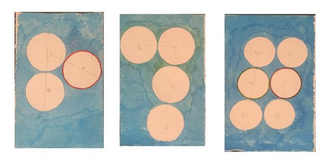 David Lamelas, 'Señalamiento de 3, 4 y 6 puntos', 1989, Herlitzka + Faria