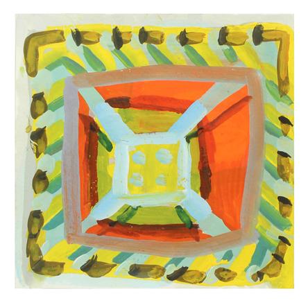 , 'Yellow Bolt,' 2017, Rick Wester Fine Art