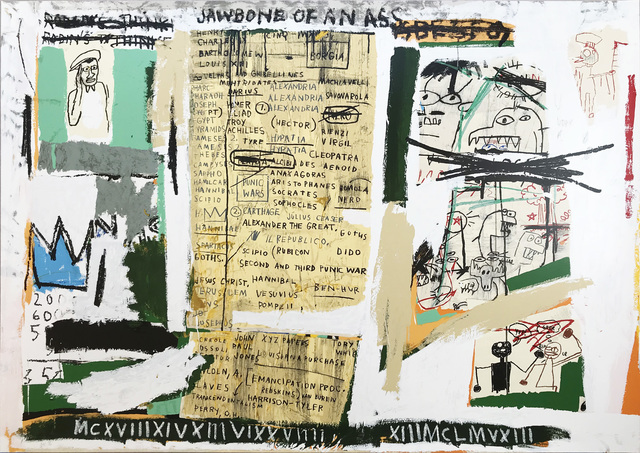 Jean-Michel Basquiat, 'Jawbone of an Ass', 2005, Maddox Gallery