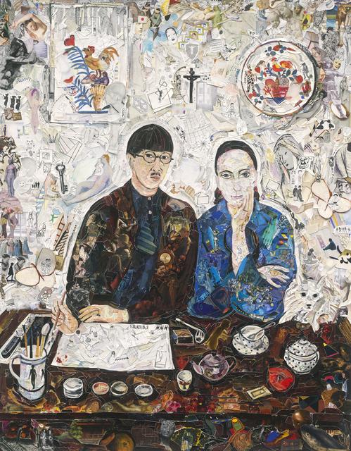 , 'Family, after Foujita,' 2017, galerie nichido / nca   nichido contemporary art