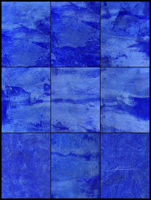 , 'Blue Wall,' 2015, Galleria Ca' d'Oro