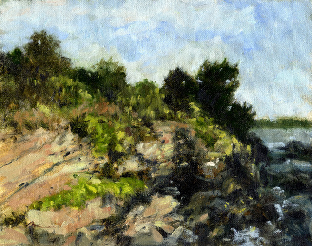 , 'Rocky Ridge,' 2010, Clyde Hogan Fine Art