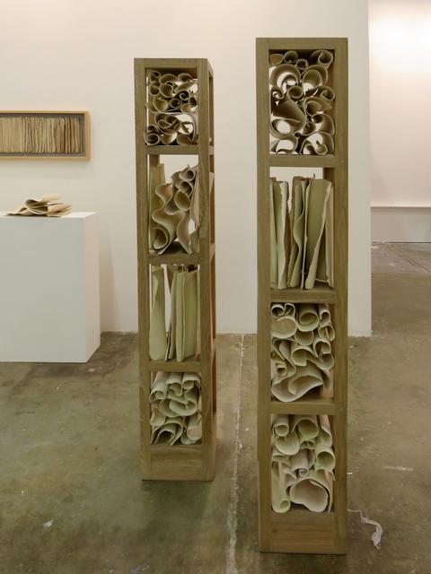 , 'Untitled (Sheets and Scrolls Installation),' 2013, Beatriz Esguerra Art