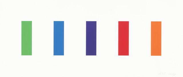 Ellsworth Kelly, 'Color Panels', 2011, Cristea Roberts Gallery
