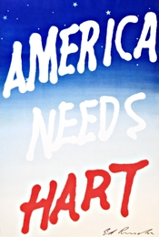 America Needs Hart (Hand Signed)