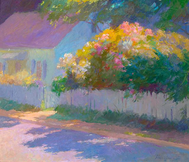 John Ebersberger, 'Summer Sidewalk', Active Contemporary, The Edgartown Art Gallery, Inc.