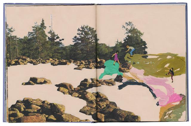, 'Continental Drift,' 2015, Jonathan LeVine Projects