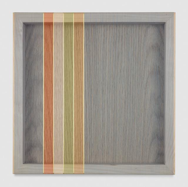 , 'Untitled (Steel Blue Hovering Thread),' 2017, PRAZ-DELAVALLADE