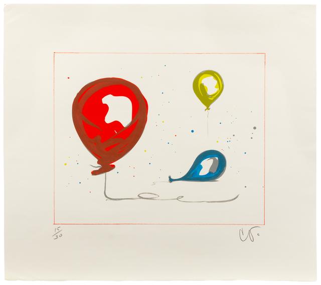 Claes Oldenburg, 'Balloons', 2000, Hindman