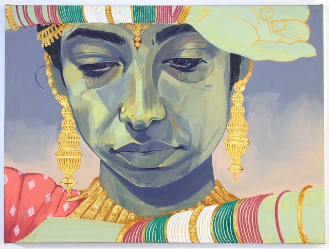 Nadia Waheed, 'Painting Of The Artist As Sridevi', 2018, Beers London