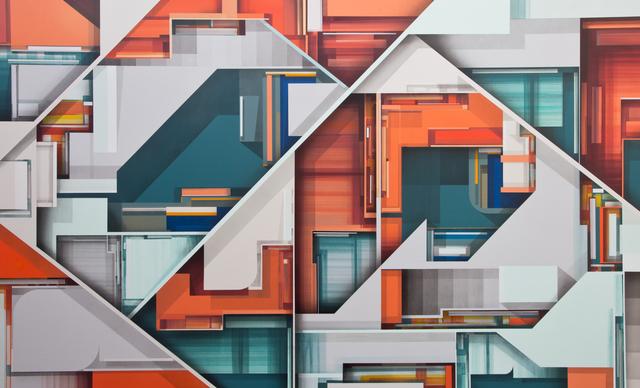 , 'Alphastructure,' 2019, Ground Effect Gallery