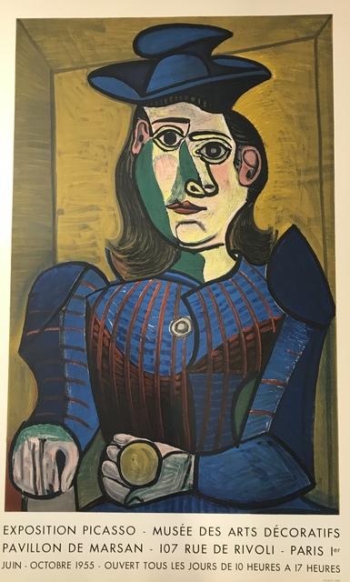 , 'Buste de Femme au Chapeau Bleu - Musee des Arts Decoratifs,' 1955, Denis Bloch Fine Art